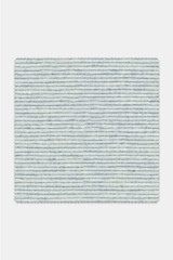 Byron Custom Blue Barre Cotton Linen Stripe
