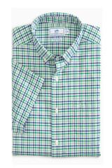 Southern Tide 3 Tattersall Intercoastal Short Sleeve Shirt