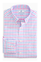 Southern Tide Fuskie Tattersall Intercoastal Shirt