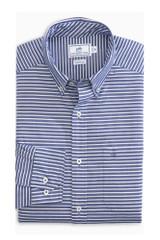Southern Tide White Horizontal Stripe Shirt