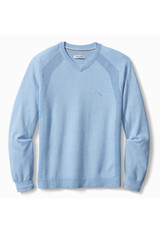 Tommy Bahama Big & Tall IslandZone Coolside V-Neck Sweater
