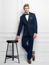 Michael Kors Navy Sterling Suit (Style 371/372)