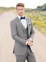 Allure Men Heather Grey Clayton Suit (Style 262)