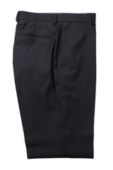 Mantoni Black Wool Pant