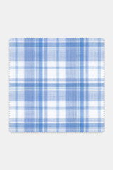 Byron Custom Variegated Cool Blue Multi Plaid