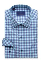 David Donahue Two Tone Bold Gingham Shirt