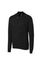 Cutter & Buck Big & Tall Douglas 1/2 Zip Mock Sweater