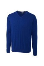 Cutter & Buck Big & Tall Lakemont Cotton V-Neck Sweater
