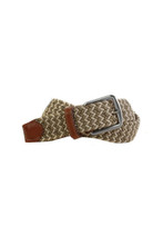 Martin Dingman Newport British Tan & Sand Belt