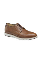 Johnston & Murphy Martell Tan Wingtip