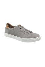 Johnston & Murphy Tolliver Grey Suede Tennis Shoe