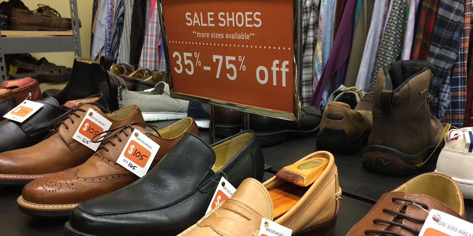 Sale dress and casual shoes for men