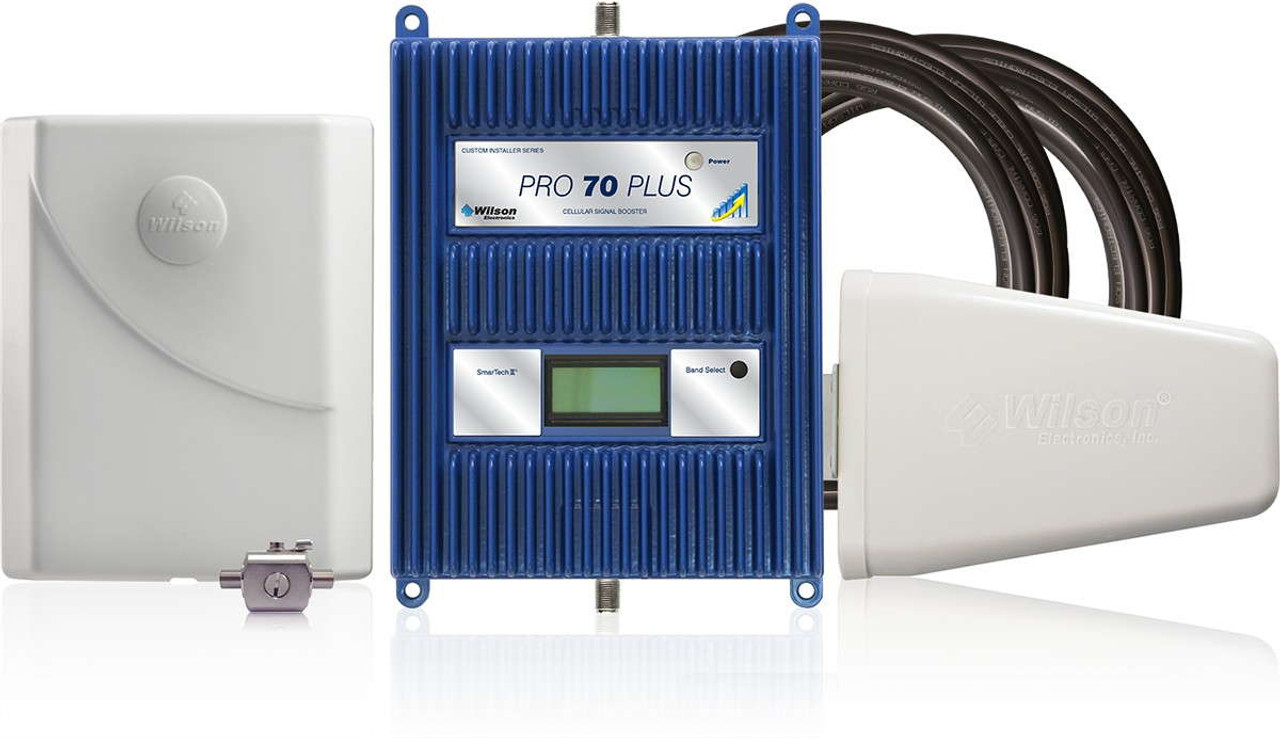 WilsonPro 70 PLUS Building Signal Booster System [75 Ohm Installer] F  Connectors