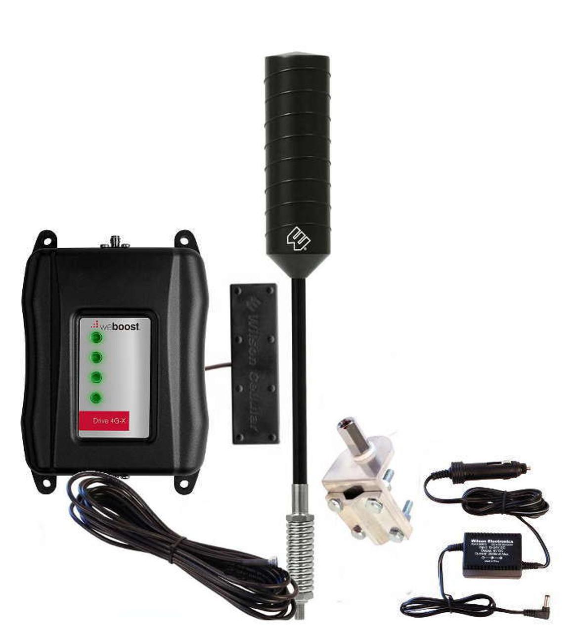 Weboost Drive 4g M Truck Rv Cell Booster 4g Trucker Antenna