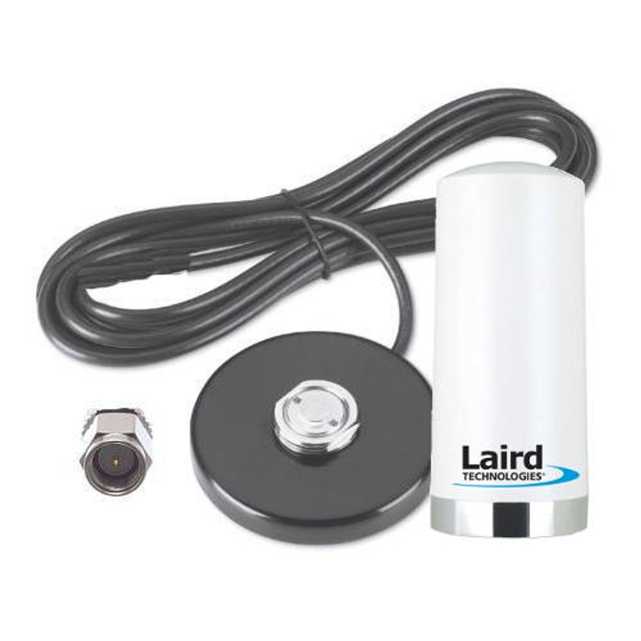 Laird Phantom 3G/4G [White Antenna] w/NMO Magnetic Base SMA M