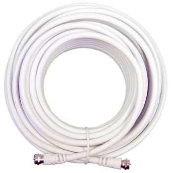 Wilson RG-6 20ft  Quad Shield Coax Cable F Male