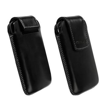 Krusell Vinga Mobile Phone Pouch Black Large