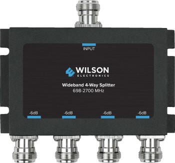 Wilson 4-Way Antenna Signal Splitter 50ohm N F 859981
