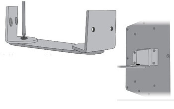 Wilson Corner Wall Mount For Wilson Panel Antennas