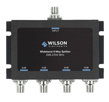 Wilson 4-Way Signal Splitter 700-2700 MHz 75 OHM 850036