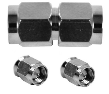 SMA Male / SMA Male Barrel Adapter