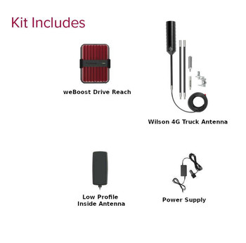weBoost Drive Reach OTR Kit Contents