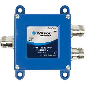 Wilson Tap -7 dB Tap with -1.2 dB Pass-Thru 50 Ohm N-F 859114