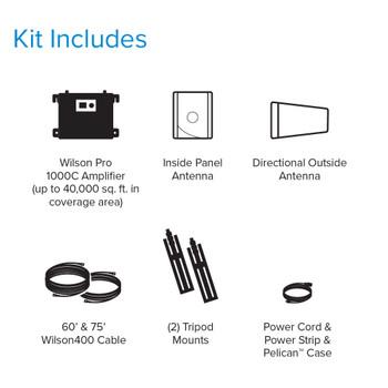 WilsonPro Pro 1000c Rapid Deploy Kit Contents