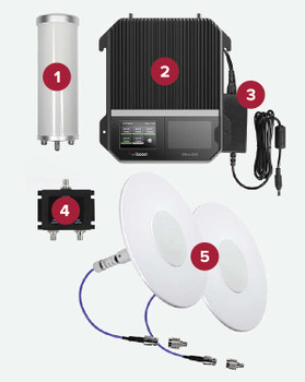 weBoost INSTALLED | Office 200 Business Building Signal Booster System