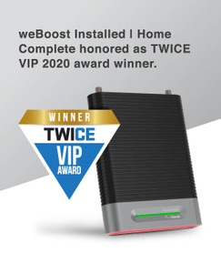 weBoost Installed | Home Complete - Wins TWICE VIP Award