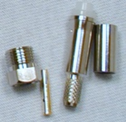 FME Female Connector For RG-58 Cable Crimp On Type