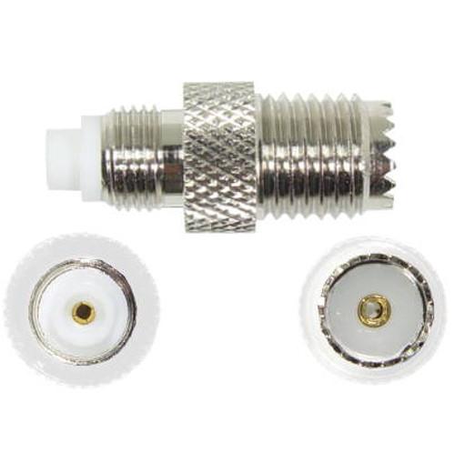 FME Female To Mini-UHF Female Adapter