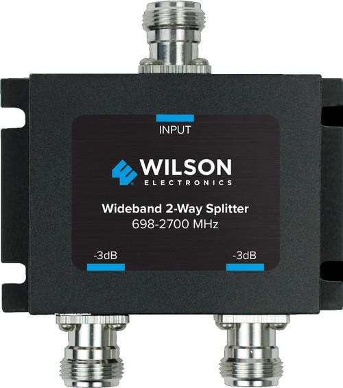 WilsonPro 2-Way Signal Splitter 50ohm N Female [698-2800MHz] 859957