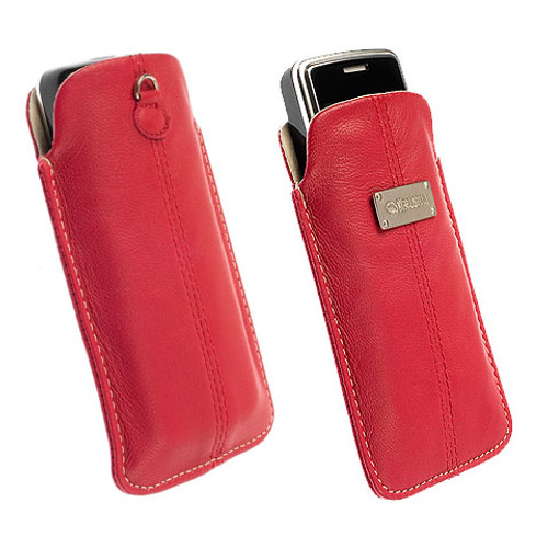 Krusell Luna Pouch Red Medium