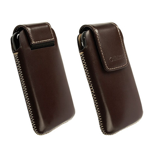 Krusell Vinga Mobile Pouch Brown Large