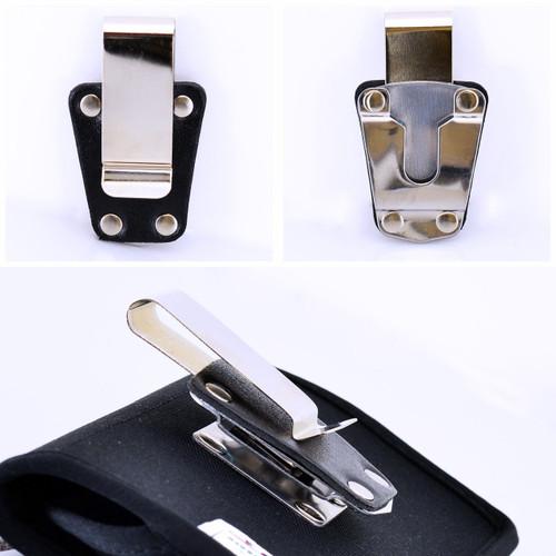 Turtleback Case Metal Standard Replacement Heavy Duty Belt Clip 1.5 in