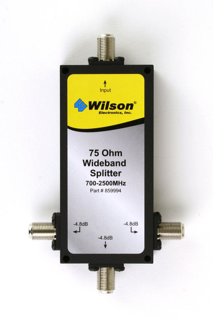Wilson 859994 3-Way Splitter 75 Ohm F Female Connector