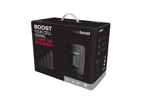 weBoost Connect 4G Building Home Signal Booster Surge Prot + Ant Mount