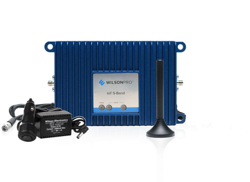 WilsonPro Pro IoT 5-Band Signal Booster [Vehicle DC Power Plug Supply]