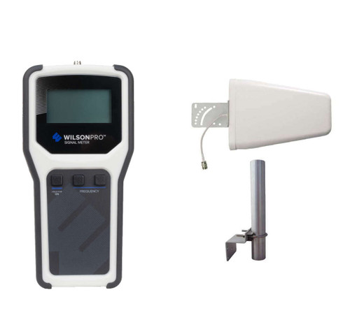 WilsonPro Cellular Signal Meter With Dir Antenna Survey Kit