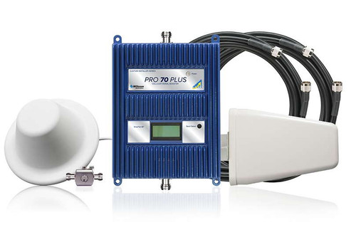 WilsonPro 70 PLUS Commercial Building Signal Booster System With Dome Antenna