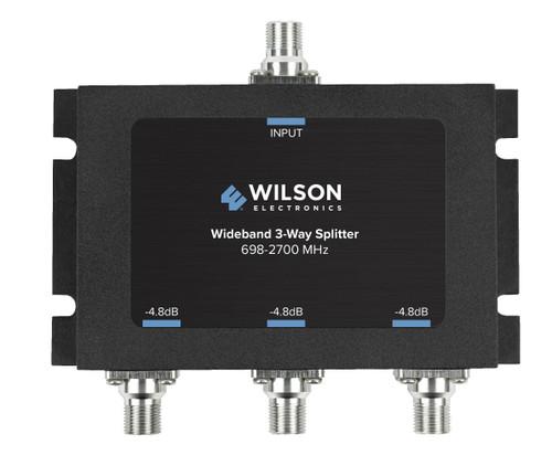 WilsonPro 3-Way Splitter 75 Ohm F Female Connector 850035