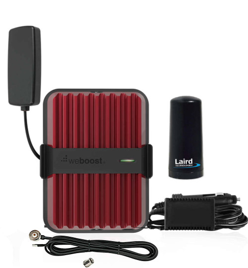 weBoost Drive Reach Mobile Signal Booster w/Laird NMO Hole Mount Antenna