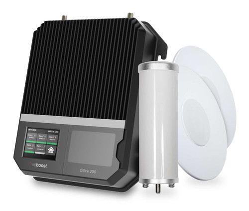 weBoost INSTALLED   Office 200 Small Business Signal Booster System
