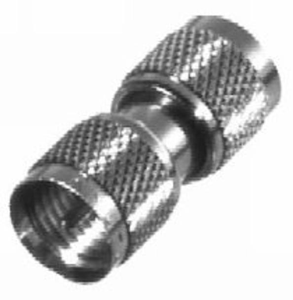 Mini-UHF Male Barrel Adapter