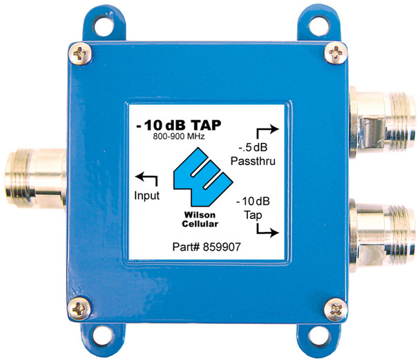 Wilson Tap -10 dB Tap with -0.5 dB Pass-Thru 50 Ohm N-F