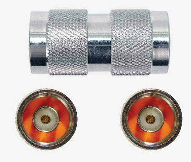 Threaded N Male To N Male Barrel Adapter