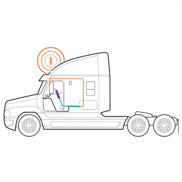 weBoost Drive Sleek Truck Signal Booster