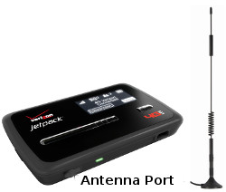 Image of Hotspot With Antenna