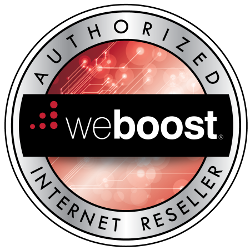 weboost authorized reseller badge